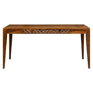Jedálenský stôl Mira 175x90 indický masív palisander Svetlomedová