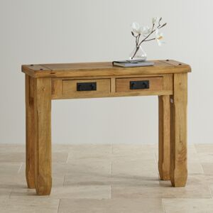 Konzolový stolík Devi 110x76x40 indický masív mango Mango natural