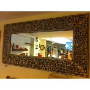 Zrkadlo Kali 180x90x5 indický masív palisander Only stain